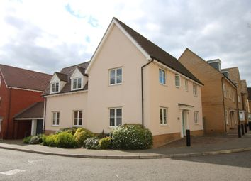 Thumbnail 4 bedroom detached house for sale in Tomlinson Road, Flitch Green, Dunmow, Essex