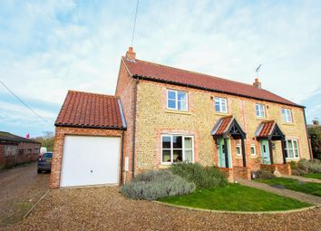 Thumbnail 2 bed semi-detached house for sale in Chapel Road, Trunch, North Walsham