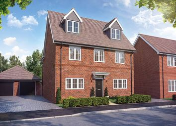 "Thumbnail 4 bedroom property for sale in ""The Oatfield"" at Cotts Field, Haddenham, Aylesbury"