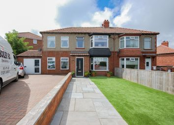 Thumbnail 4 bed semi-detached house for sale in Park Road, Brotton
