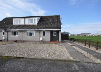Thumbnail 2 bed semi-detached house for sale in 31 School Road, Stranraer