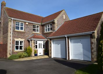 Thumbnail 4 bed detached house for sale in Moor Park Drive, Woodhall Spa