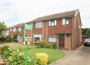 Thumbnail 3 bed semi-detached house for sale in Hithermoor Road, Staines-Upon-Thames, Surrey