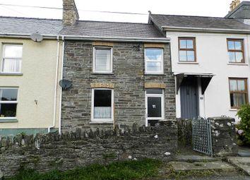 Thumbnail 2 bed terraced house for sale in Railway Terrace, Henllan, Llandysul