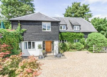 Thumbnail 4 bed barn conversion for sale in Appleshaw, Andover, Hampshire