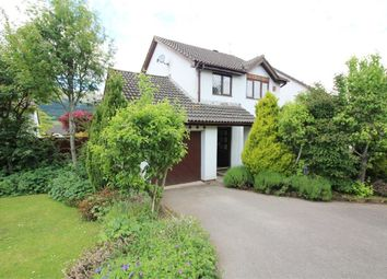 Thumbnail 3 bed detached house for sale in De Cantelupe Close, Ysbytty Fields, Abergavenny