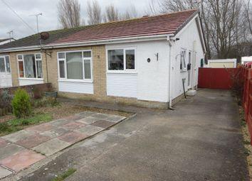 Thumbnail 2 bed semi-detached bungalow for sale in Bryn Teg, Towyn, Abergele