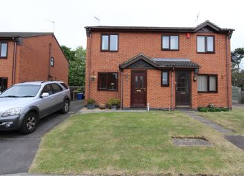 Thumbnail 2 bed semi-detached house for sale in Elizabeth Close, Gainsborough