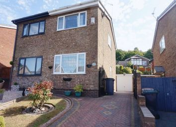 Thumbnail 2 bed semi-detached house for sale in Linacre Way, Parkhall, Stoke-On-Trent, Staffordshire