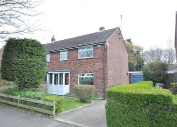 Thumbnail 3 bed semi-detached house to rent in Old Wood Road, Heswall, Wirral