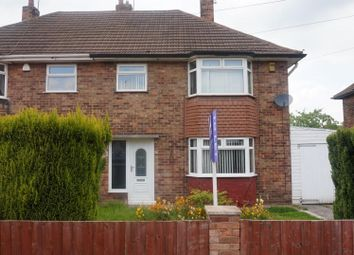 Thumbnail 3 bed semi-detached house to rent in Hammerwater Drive, Warsop, Mansfield