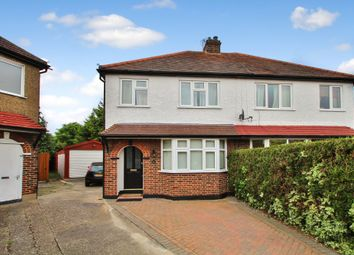 Thumbnail 3 bed semi-detached house for sale in Ronelean Road, Surbiton, Surrey