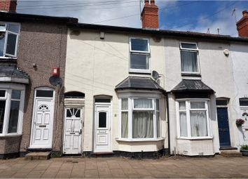 Thumbnail 3 bedroom terraced house for sale in Chatham Road, Birmingham