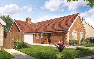 Thumbnail 3 bedroom detached house for sale in Butterfield Meadow, Hunstanston, Norfolk