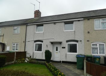 Thumbnail 2 bed terraced house for sale in Bannister Road, Wednesbury
