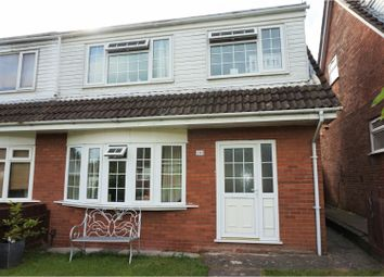 Thumbnail 3 bed semi-detached house for sale in Bryncyn, Cardiff