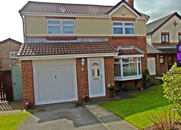 Thumbnail 4 bedroom detached house for sale in Hilton Drive, Peterlee