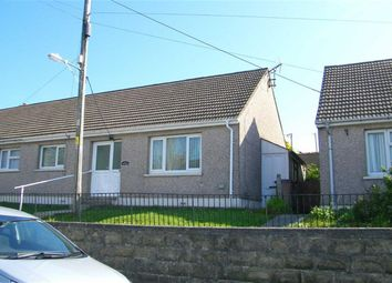 Thumbnail 2 bed semi-detached bungalow for sale in Middle Street, Rosemarket, Milford Haven