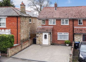 Thumbnail 3 bed semi-detached house for sale in Carter Street, Fordham, Ely
