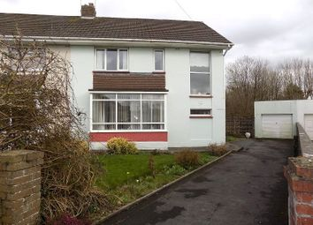 Thumbnail 4 bed semi-detached house for sale in St Georges Avenue, Wildmill, Bridgend.