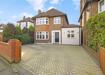 Thumbnail 3 bed detached house for sale in Sidney Road, Walton-On-Thames, Surrey
