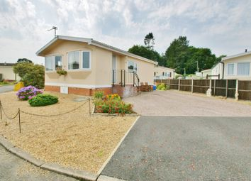 Thumbnail 2 bed mobile/park home for sale in Newton Park Homes, Newton St. Faith, Norwich