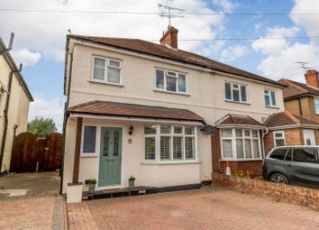 Thumbnail 3 bed semi-detached house for sale in Holly Avenue, New Haw, Addlestone