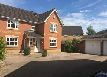 Thumbnail 4 bed detached house for sale in Millstone Close, Northampton