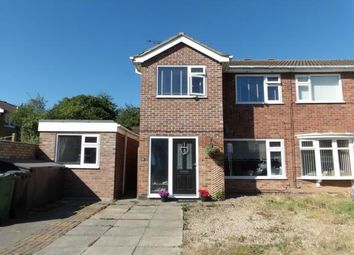 Thumbnail 5 bed semi-detached house for sale in Conway Close, Loughborough, Leicestershire