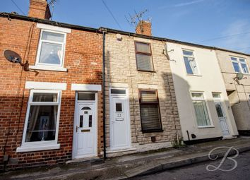 Thumbnail 2 bed terraced house for sale in Gedling Street, Mansfield