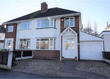 Thumbnail 3 bed semi-detached house for sale in Romsey Road, Wolverhampton
