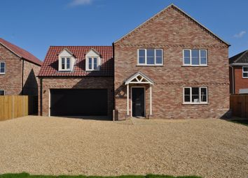 Thumbnail 5 bed detached house for sale in Smeeth Road, Marshland St. James, Wisbech