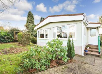 Thumbnail 2 Bed Mobile Park Home For Sale In Boxhill Road Tadworth Surrey