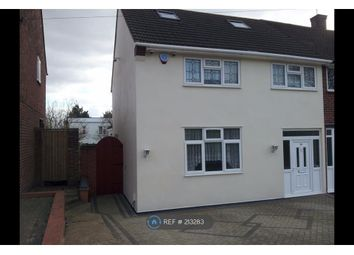 Thumbnail 3 bed end terrace house to rent in Petersfield Avenue, Romford