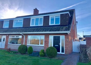 Thumbnail 3 bed semi-detached house for sale in Brafferton Walk, Acklam, Middlesbrough