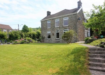 Thumbnail 4 bed detached house for sale in Plas Road, Blackwood