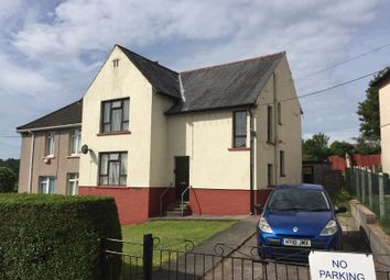 Thumbnail 4 bed semi-detached house for sale in Heolddu Avenue, Bargoed