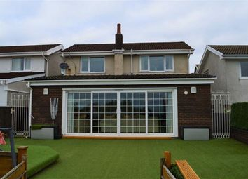 Thumbnail 4 bed detached house for sale in Rustic Close, Swansea