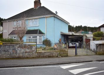 Thumbnail 2 bed semi-detached house for sale in Brokesby Road, Bonymaen, Swansea