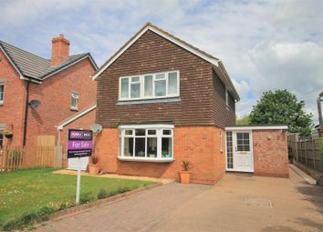 Thumbnail 3 bed detached house for sale in White House Drive, Hereford