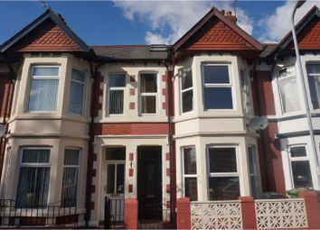 Thumbnail 2 bed terraced house for sale in New Zealand Road, Cardiff