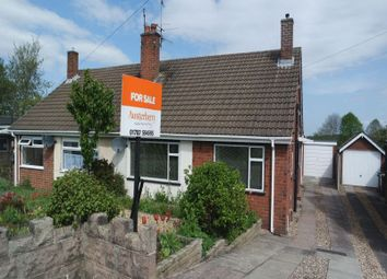 Thumbnail 3 bed semi-detached bungalow for sale in Ansmede Grove, Blurton, Stoke-On-Trent