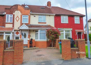 Thumbnail 4 bedroom terraced house for sale in Mansion Crescent, Smethwick