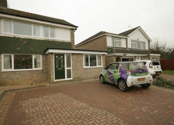 Thumbnail 3 bedroom semi-detached house to rent in Warren Road, St. Ives, Huntingdon