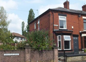 Thumbnail 2 bed end terrace house for sale in Sheffield Road, Hyde