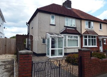 Thumbnail 2 bed semi-detached house to rent in Nash Road, Newport, Newport.