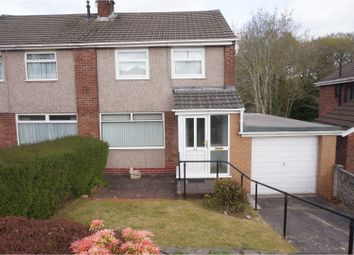 Thumbnail 3 bed semi-detached house for sale in Lothian Crescent, Cardiff