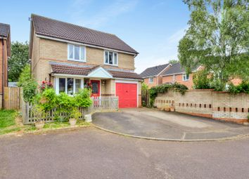 Thumbnail 3 bed detached house for sale in Chestnut Close, Woodford Halse, Daventry
