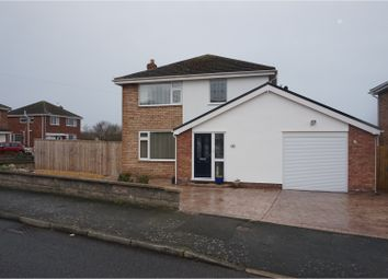 Thumbnail 3 bed detached house for sale in Powys Road, Llandudno