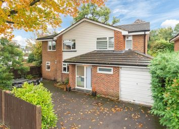 Thumbnail 4 bed detached house for sale in Woodside Avenue, Hersham, Walton-On-Thames
